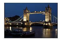 Картина на холсте Мост Лондон (50х75)