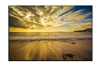 Картина на холсте Вечер на море (30х45)