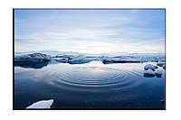 Картина на холсте Ледник (30х45)