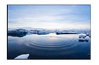 Картина на холсте Ледник (50х75)