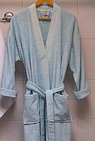 Махровый халат Deco Bianca 52001 V4 аква L/XL