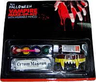 """Краска для лица - грим вампира с зубами - """"Vampire Make-Up-Kit"""""""