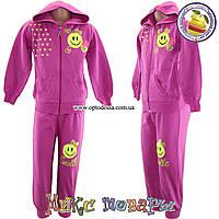 Детские спортивные костюмы для девочек от 2 до 6 лет (4636-2)