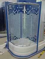 Душевая кабина SANTEH 9021SQ (90*90*1,95м) поддон 40 см хром/SQUARE