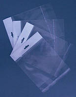 Пакеты полипропиленовые с еврослотом 10x13.5+3/25мк