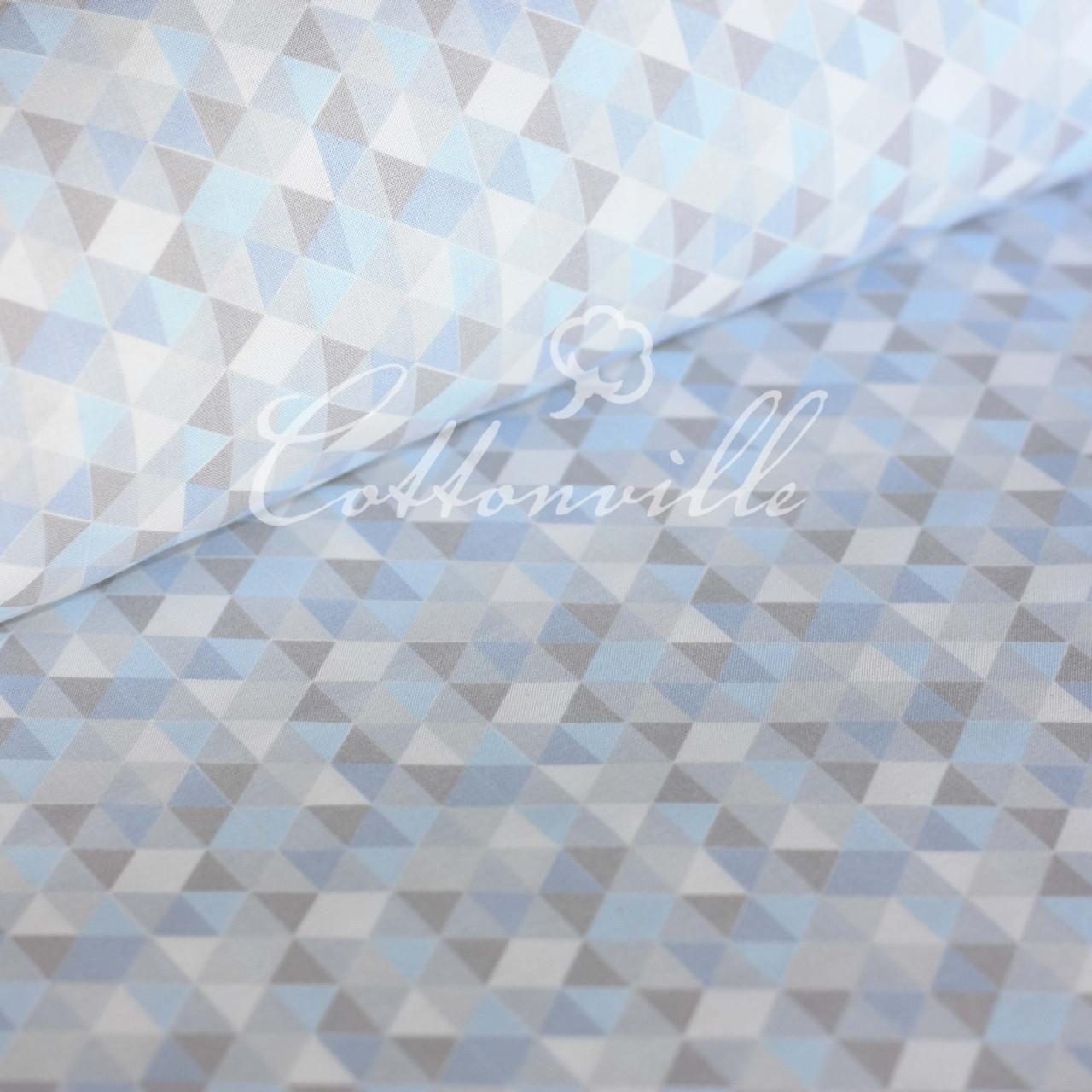Хлопковая ткань Треугольники