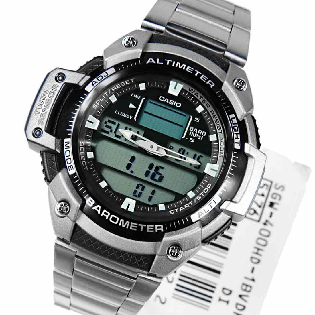 Часы Casio SGW-400HD-1