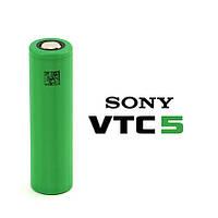 Sony US18650VTC5 2600mah (до 60А) - высокотоковый аккумулятор для электронных сигарет. Оригинал