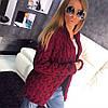 Модный женский кардиган на осень