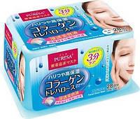 "UTENA ""Puresa Daily"" Освежающая маска-салфетка с коллагеном и трегалозой, 28 шт."
