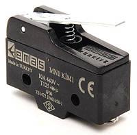 Мини-выключатель с коротким подпружиненным штырьком