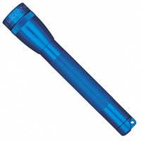 Фонарик AA, полипропиленовый поясной чехол, голубой