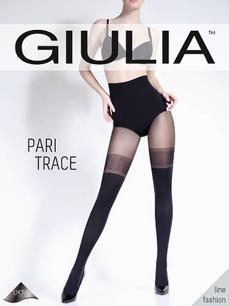 Колготки женские имитация чулков PARI TRACE 60 MODEL 1, фото 2