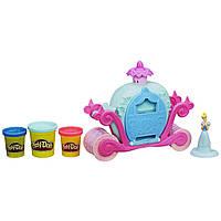 Play-Doh Принцессы Диснея Волшебная карета Золушки Magical Carriage Featuring Disney Princess Cinderella A6070