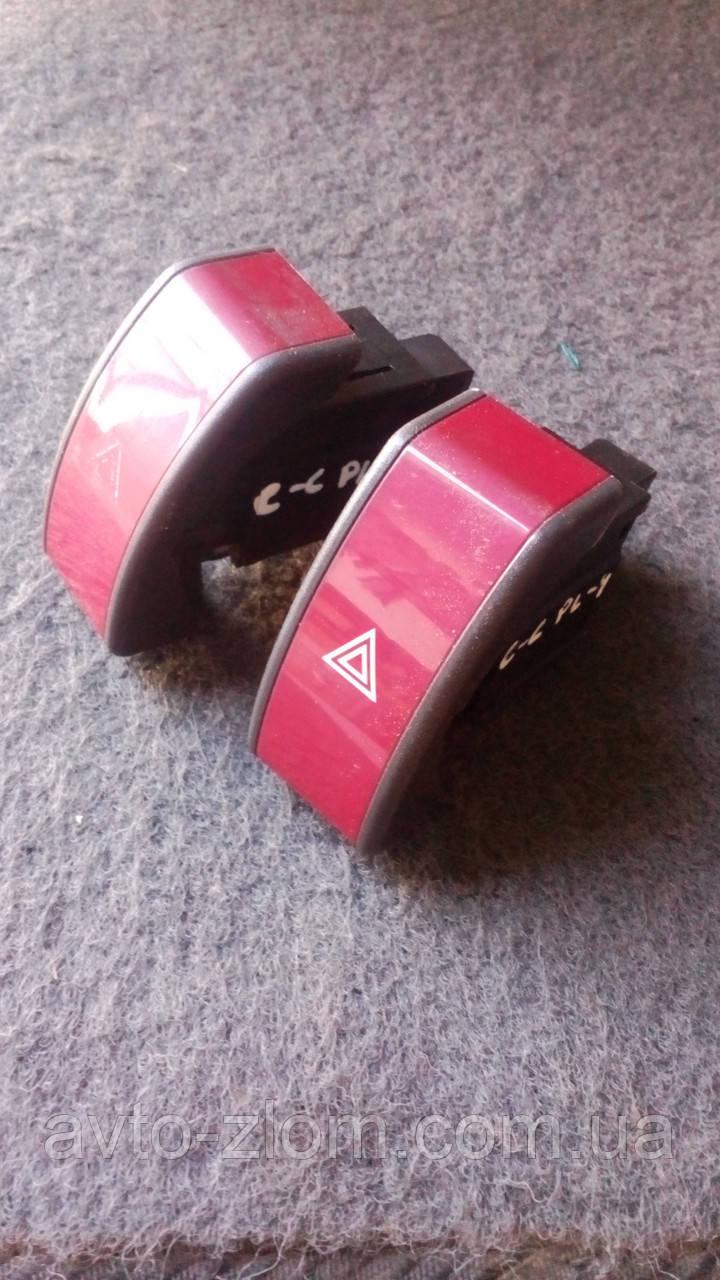 Кнопка аварийки Opel Combo - C.