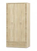 Гресс шкаф 2Д + 1 Ш (Мебель-Сервис)  дуб самоа 928х553х1920мм