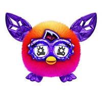Ферби малыш ферблинг  кристальный оранжевый с сиреневым Furby Furblings