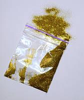 Блеск для жидких обоев - золото 10 грамм