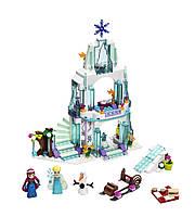 LEGO Холодное сердце Ледяной дворец Эльзы Disney Princess Elsa's Sparkling Ice Castle 41062