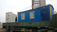 Перевозка вагончика, строительной бытовки, ларька, киоска, фото 1