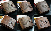 Мужской кошелек Bailini, кожа / мужской кожанный кошелек, коричневый