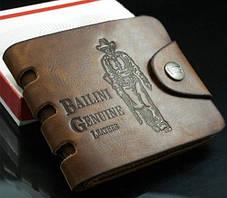 Мужской кошелек Bailini, кожа / мужской кожанный кошелек, коричневый , фото 2