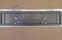 Рамка под номерной знак передняя / задняя CAREX из нержавеющей стали