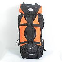 Многоцелевой туристический рюкзакThe North Face 100 L - черный с оранжевым