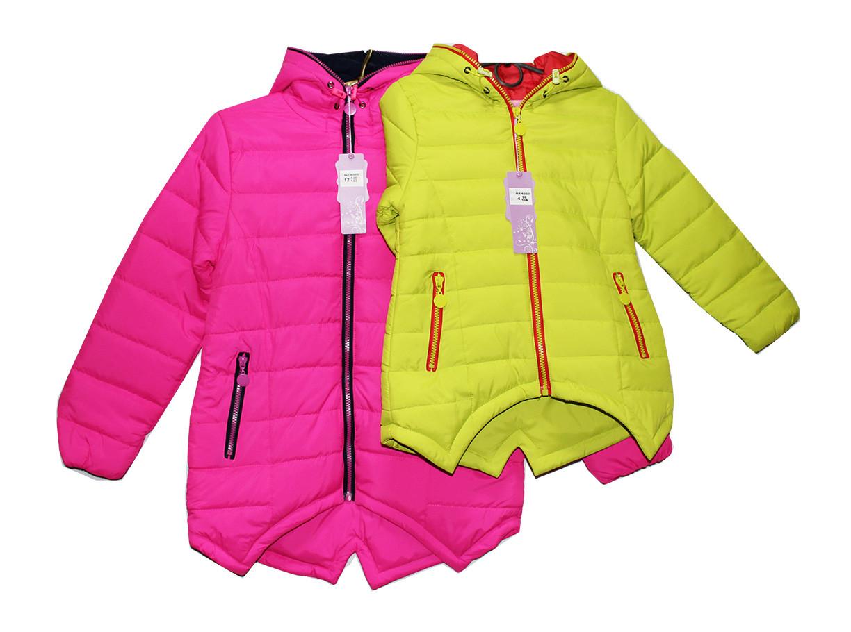 Куртка подростковая осенняя на синтепоне девочке. Q-6006