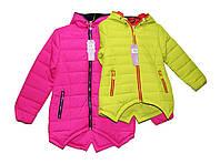 Куртка подростковая осенняя на синтепоне девочке. Q-6006, фото 1