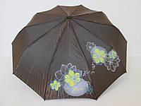 Женский зонт полуавтомат хамелеон с рисунком RAINBRELLA
