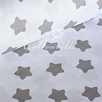 ✁ Отрезы бязи Серые прянички на белом, фото 1