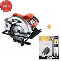 Пила дисковая CD601A BLACK+DECKER
