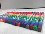 """Олівці кольорові воскові (24 кольори), ТМ """"Olli"""", фото 5"""