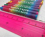 """Олівці кольорові воскові (24 кольори), ТМ """"Olli"""", фото 7"""