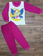 Детская пижама для девочек , рост от 86 до 116 см