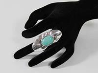 Женский перстень с бирюзой