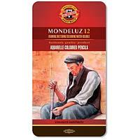 Карандаши цветные акварельные Mondeluz 12 цветов KOH-I-NOOR