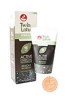 Растительная зубная паста Twin Lotus Active Charcoal Toothpaste с бамбуковым углём