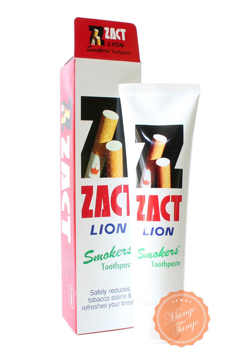 Зубная паста для курильщиков.  Zact Lion Smoker Toothpaste. - Товары из Таиланда оптом и в розницу МангоТанго в Одессе
