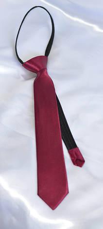 Детский галстук Малиновый, фото 2