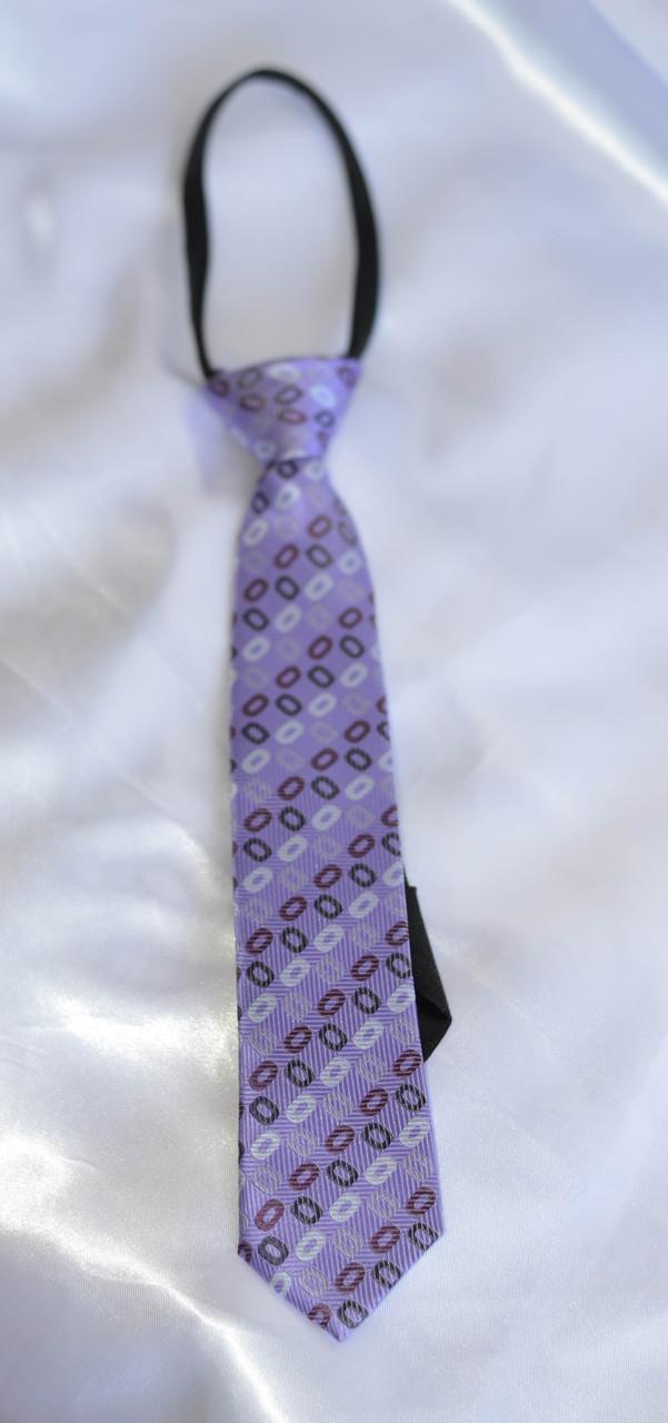 Детский галстук Сиреневый