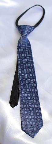 Детский галстук Синий, фото 2