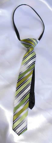 Детский галстук в полоску, фото 2