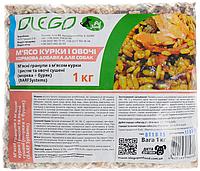 Кормовая смесь Olego мясо курицы с овощами , 0,2 кг