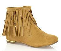 Женские ботинки Clementine camel, фото 1