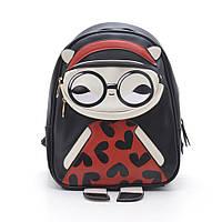 Оригинальный рюкзак для молодежи. Стильный принт. Высокое качество. Удобный молодежный рюкзак. Код: КДН557