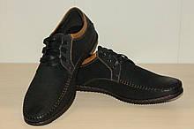 Туфли мужские черные  42 р арт 7264-2.