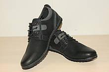 Туфли подростковые 38 р черные арт 5296
