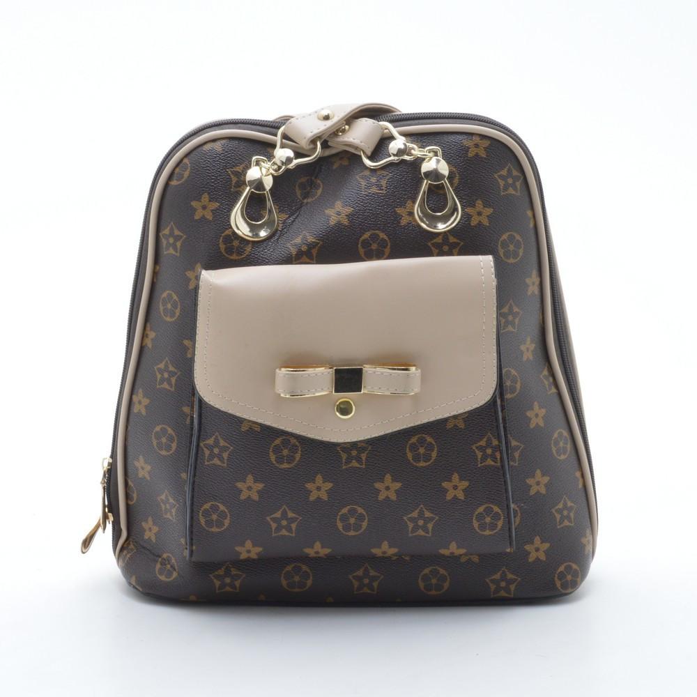 Очень красивый женский рюкзак. Оригинальный. Молодежный рюкзак. Высокое качество. Купить рюкзак. Код: КДН563